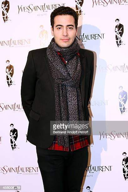 JeanVictor Meyers Bettencourt attends the 'Yves Saint Laurent' Paris movie Premiere at Cinema UGC Normandie on December 19 2013 in Paris France