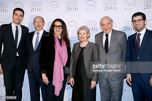 JeanVictor Meyers Chairman Chief Executive Officer of L'Oreal and Chairman of the L'Oreal Foundation JeanPaul Agon Francoise Bettencourt Meyers...