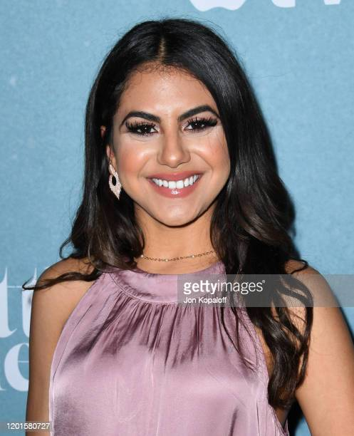 Jearnest Corchado attends the premiere of Apple TV's Little America at Pacific Design Center on January 23 2020 in West Hollywood California