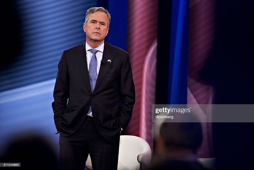 CNN Hosts South Carolina Republican Presidential Town Hall : News Photo