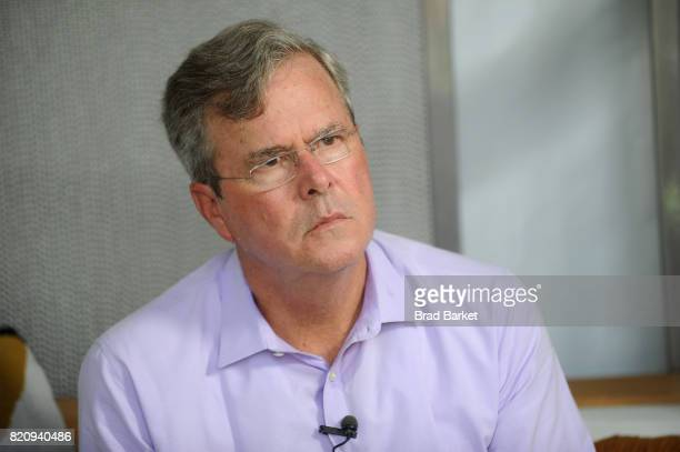 Jeb Bush speaks onstage during OZY FEST 2017 Presented By OZYcom at Rumsey Playfield on July 22 2017 in New York City