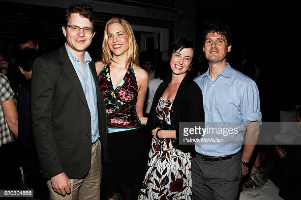 Jebediah Reed Mandy Stadtmiller Marnie Hanel and Alex Tilney attend Party for CHRISTOPHER TENNANT's new book The Official FILTHY RICH HANDBOOK at The...