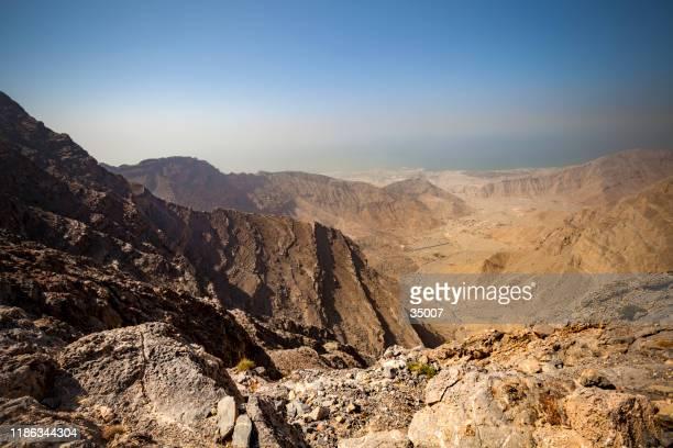jebel jais mountain range, ras al khaimah - ras al khaimah stock pictures, royalty-free photos & images