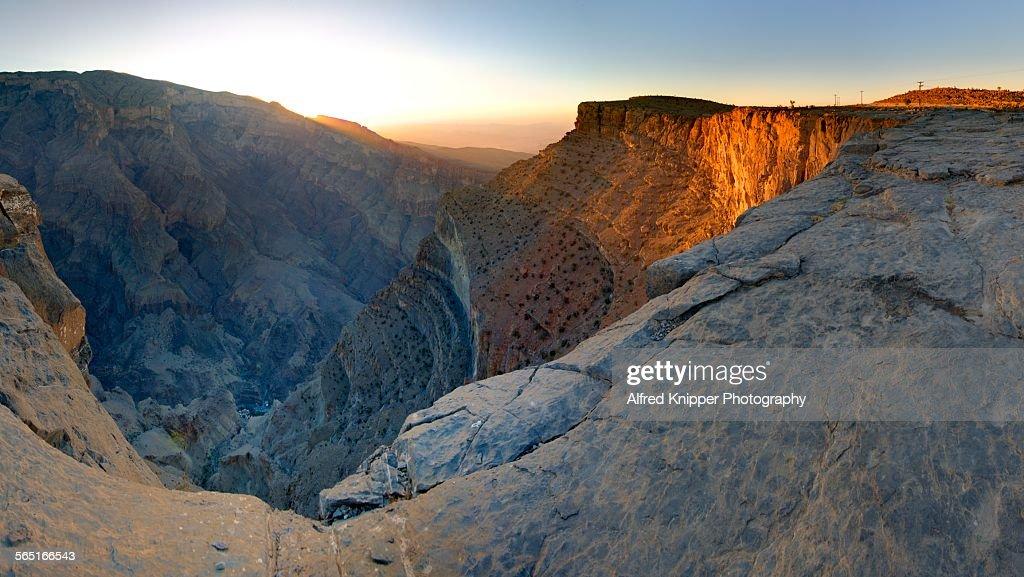 Jebel Shams : Stock Photo