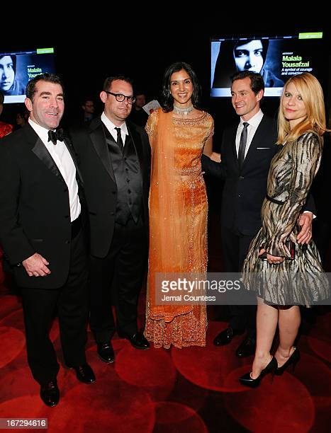 Jed Hartman guest Radhika Jones Hugh Dancy and Claire Danes attend the TIME 100 Gala TIME'S 100 Most Influential People In The World reception at...