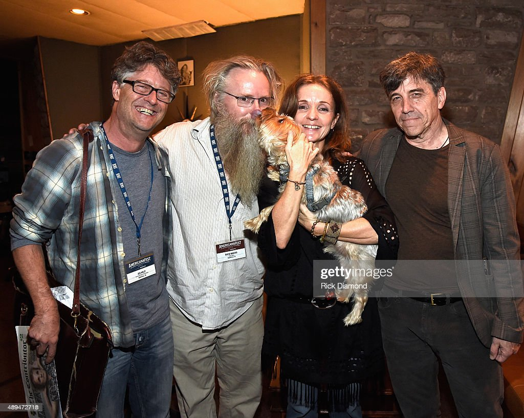 Jed Hilly Executive Director AMA, David Macias President Thirty Tigers, Singer/Songwriter Patty Griffin and Manager Roy Taylor at the 16th Annual Americana Music Festival & Conference - Day 2 - NPR hosts 'SONGS