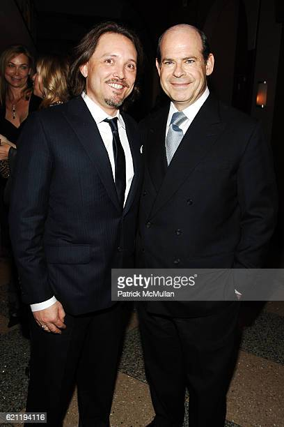 Jed Root and Jeffrey Rosen attend INTERNATIONAL CENTER OF PHOTOGRAPHY's 24th Annual INFINITY AWARDS at Pier 60 on May 12 2008 in New York City