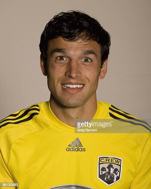 Jed Zayner of the Columbus Crew poses for a photo on February 23 2009 at the SuperKick indoor training facility in Lewis Center Ohio