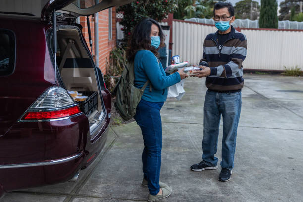 AUS: Charities Work To Provide Food For People In Need During Second Melbourne Lockdown