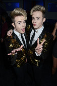 london england exclusive coverage jedward attend