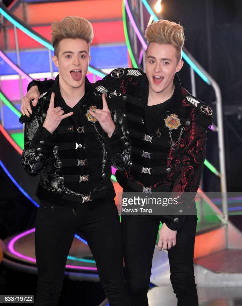 Jedward come 2nd after being evicted from the Celebrity Big Brother houseon February 3 2017 in Borehamwood United Kingdom