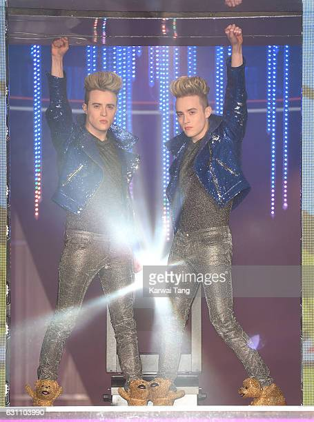 Jedward enters the Celebrity Big Brother house on January 6 2017 in Borehamwood United Kingdom