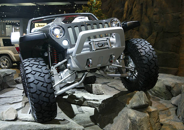 Jeep Hurricane Concept During The 3rd Press Preview Day Of The 2005