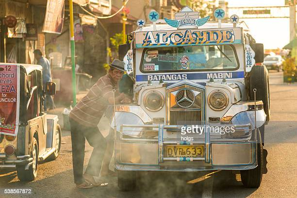 jeep in batangas, philippines - jeepney stock pictures, royalty-free photos & images