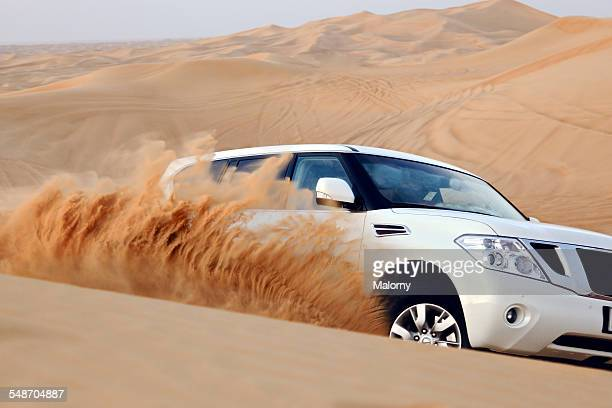 A Jeep in the Dubai Desert.