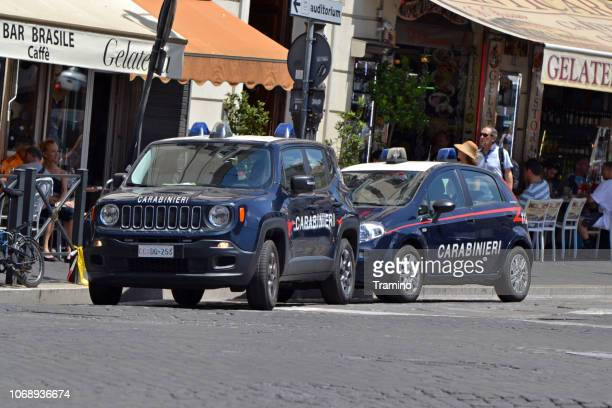 Jeep Renegade and Fiat Punto in gendarmerie version