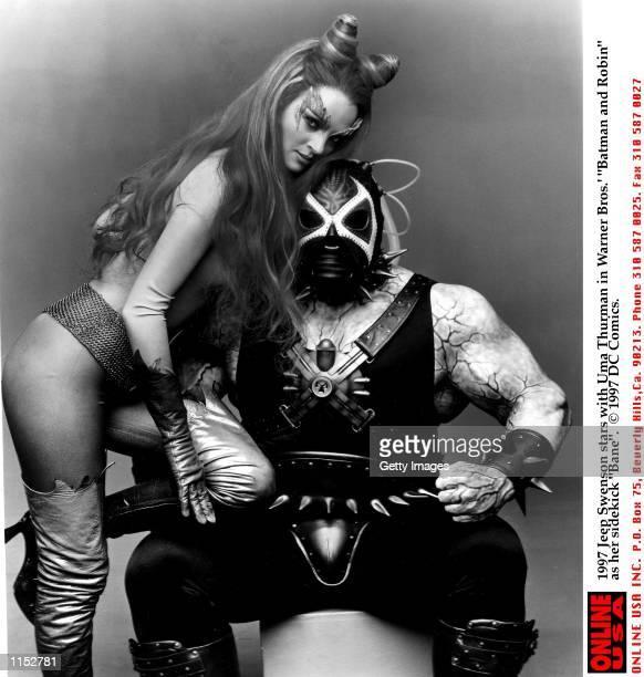 Jeep Swenson stars with Uma Thurman in Warner Bros'' Batman and Robin as her sidekick Bane