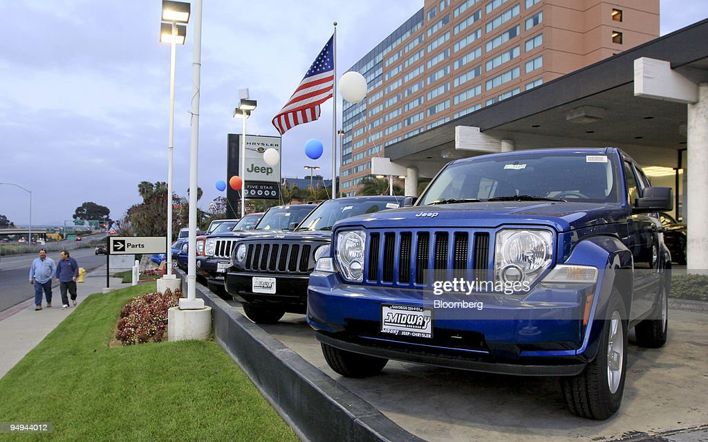 Jeep Vehicles Sit On Display Outside Midway Chrysler Jeep In San Diego  California US On Tuesday