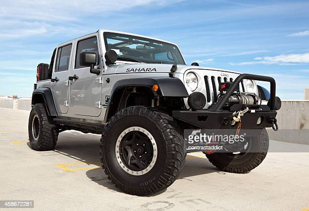 jeep wrangler 2008. - jeep wrangler stock photos and pictures