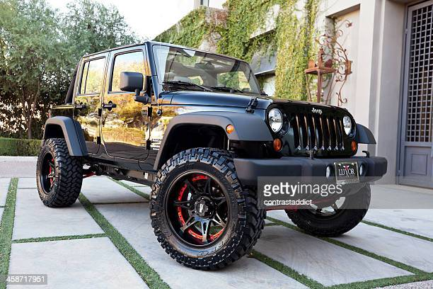 jeep wrangler 2010 - jeep wrangler stock photos and pictures