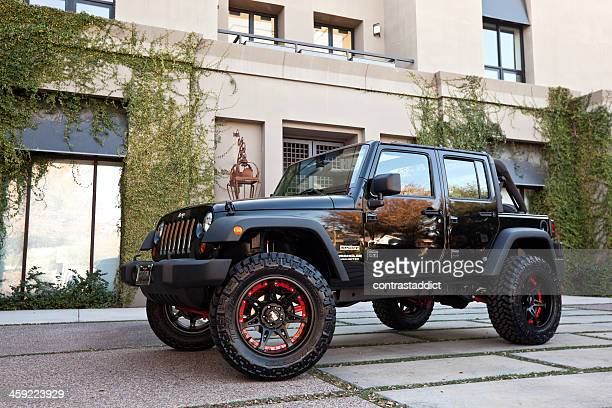 jeep wrangler 2010. - jeep wrangler stock photos and pictures