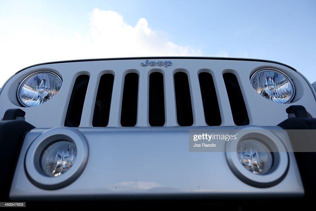 dealership at on hollywood sale and emblem a images s chrysler jeep stock pictures is seen for photos vehicle getty the picture