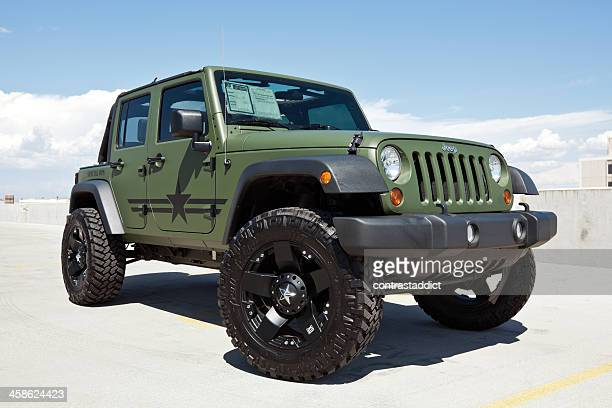 2010 jeep wrangler. - jeep wrangler stock photos and pictures