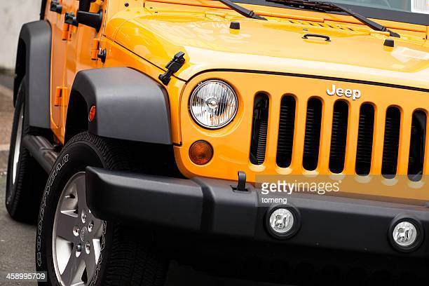jeep wrangler - jeep wrangler stock photos and pictures