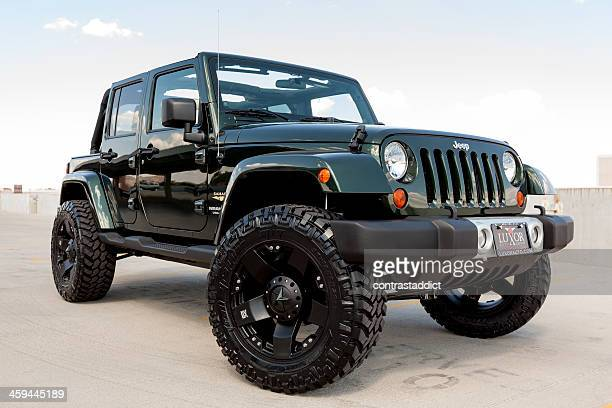 jeep wrangler - jeep stock pictures, royalty-free photos & images