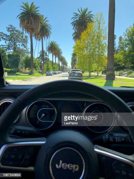 Jeep Wrangler Sahara Edition off-road vehicle dashboard in Los Angeles