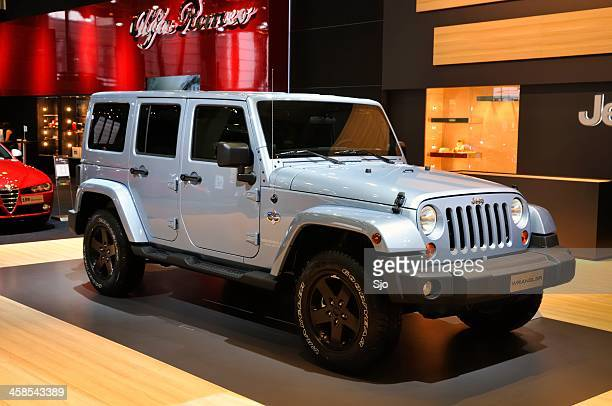 jeep wrangler unlimited - jeep wrangler stock photos and pictures