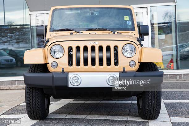 jeep wrangler unlimited sahara - jeep wrangler stock photos and pictures