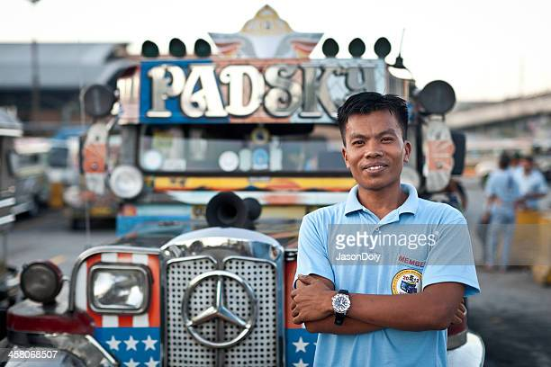 jeepney driver - jeepney stock pictures, royalty-free photos & images