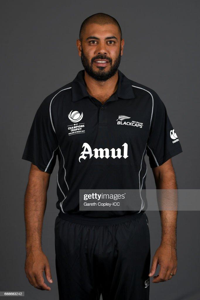 ICC Champions Trophy - New Zealand Portrait Session