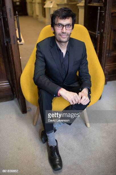 Jeetendr Sehdev leading expert on celebrity branding at the FT Weekend Oxford Literary Festival on March 31 2017 in Oxford England