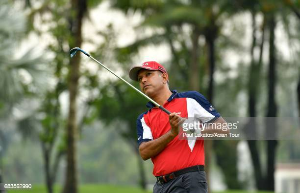 Jeev Milkha Singh of India pictured during the proam ahead of the 2017 Thailand Open at the Thai Country Club on May 16 2017 in Bangkok Thailand