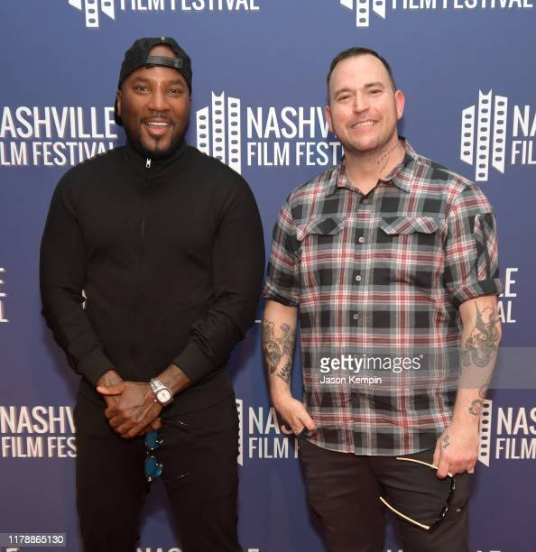 Jeezy and Bubba Sparxxx attend the Nashville Film Festival's 50th Anniversary Opening Night on October 03, 2019 in Nashville, Tennessee.