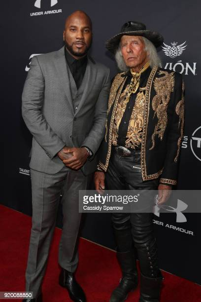 Jeezy and James Goldstein Attend Tequila Avion hosts NBA AllStar After Party presented by Talent Resources on February 17 2018 in Beverly Hills...