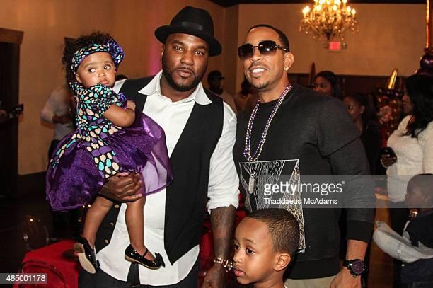 Jeezy and Ludacris at Le Fais DoDo on February 22 2015 in Atlanta Georgia