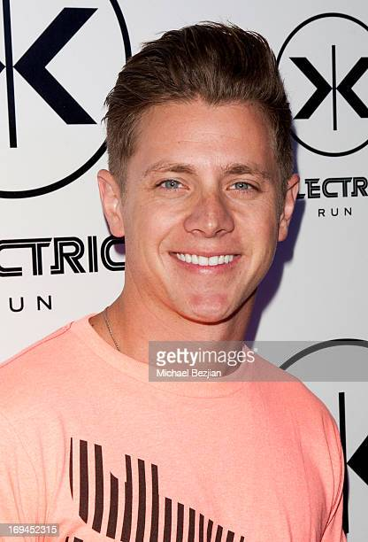 Jef Holm attends Vanessa Hudgens Hosts Electric Run LA To Kick Off Memorial Day Weekend at The Home Depot Center on May 24, 2013 in Carson,...