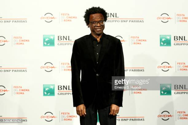 Jeferson De attends the Correndo Atras photocall during the 13th Rome Film Fest at Auditorium Parco Della Musica on October 21 2018 in Rome Italy