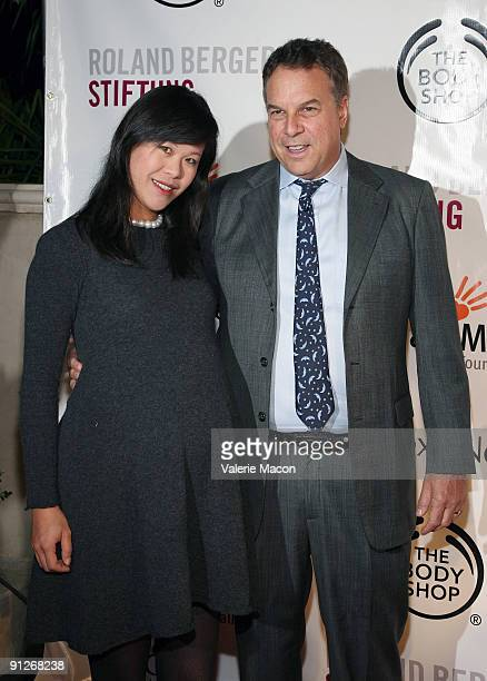 Jeff and Mei Sze Greene arrive at the 2nd annual Los Angeles Gala An evening of hopes and dreams on September 29 2009 in Beverly Hills California