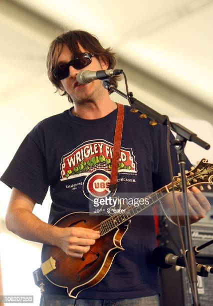 Jeff Austin of the Yonder Mountain String Band during The Inaugural Stagecoach Country Music Festival Day 1 at Empire Polo Field in Indio California...