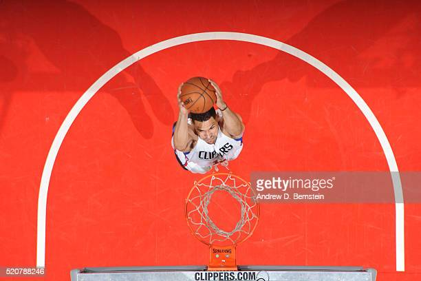 Jeff Ayres of the Los Angeles Clippers dunks against the Memphis Grizzlies on April 12 2016 at STAPLES Center in Los Angeles California NOTE TO USER...