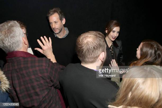 Jeff Baena and Alison Brie attend the Netflix Horse Girl Premiere at The Ray on January 27 2020 in Park City Utah