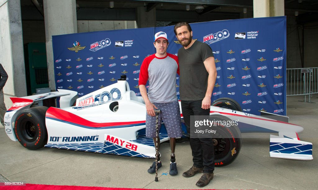 Celebrities Attend The 101st Indianapolis 500