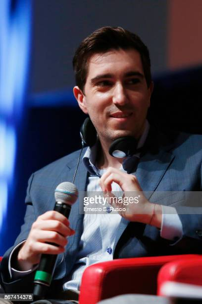 Jeff Bauman attends 'Stronger' press conference during the 12th Rome Film Fest at Auditorium Parco Della Musica on October 28, 2017 in Rome, Italy.