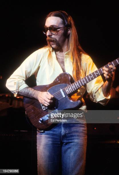 Jeff Baxter of the Doobie Brothers performs live at the Oakland Coliseum on December 30 1978 in Oakland California