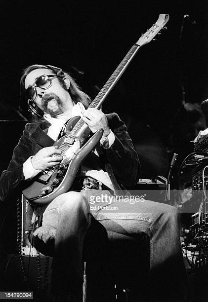 Jeff Baxter of the Doobie Brothers performs live at the Oakland Coliseum on December 30, 1978 in Oakland, California.