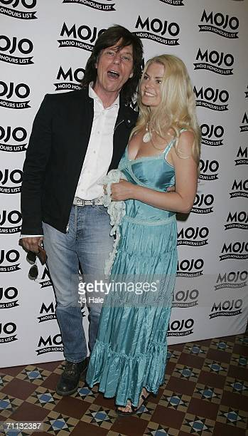 Jeff Beck and wife Sandra Cash attend The MOJO Honours List awards recognising careerlong contributions to popular music at Shoreditch Town Hall on...